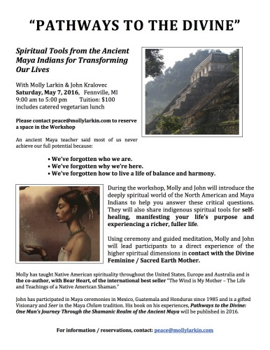 PTTD Molly May 7 2016 Workshop Flyer