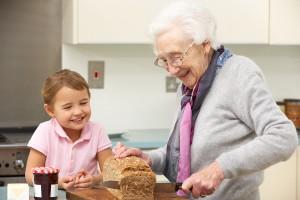 grandmother kitchen