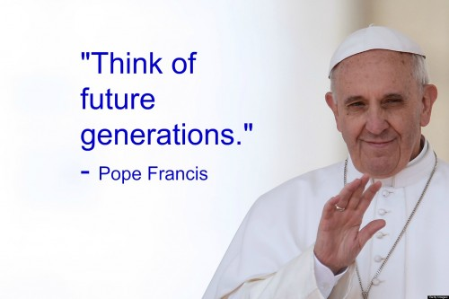pope francis think