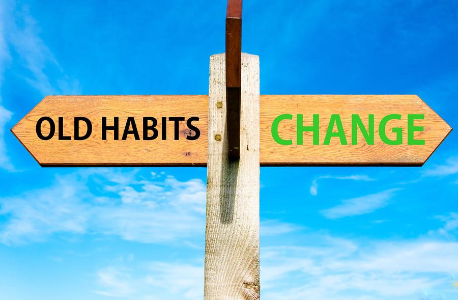 Znalezione obrazy dla zapytania change habits